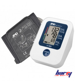 Blood pressure monitor A&D UA-888, automatic, with adapter