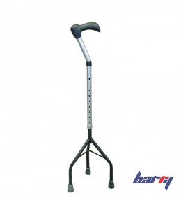 Cane with small pyramidal support 10114