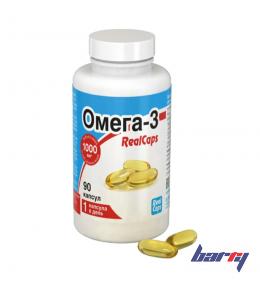 """Биологически активная добавка к пище """"Омега-3 RealCaps"""" 90 капсул (по 700 мг)"""