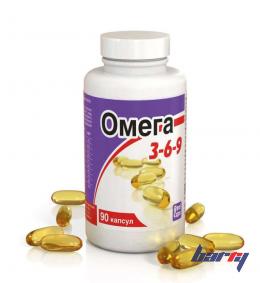 """Биологически активная добавка к пище """"Омега 3-6-9"""" 90 капсул (по 1600 мг)"""
